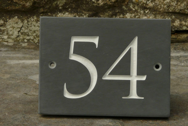 Door numbers signs mesmerizing for Front door number plaques